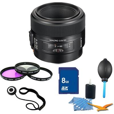 SAL50M28 - 50mm f/2.8 Macro Lens Essentials Kit
