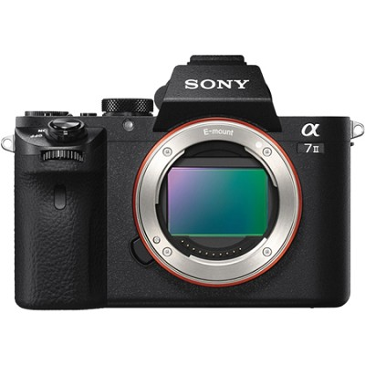 Alpha 7II Mirrorless Interchangeable Lens Camera - Body Only