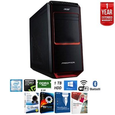 Aspire Predator G3605 Desktop Computer Intel Core i7+Extended Warranty Pack