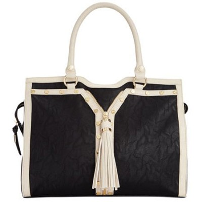 Handbags Patton Tote (Bone/Black)