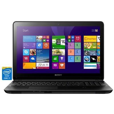 Fit 15E SVF1532ACXB 15.5` Touchscreen Black Notebook - Intel Core i7-4500U Proc.