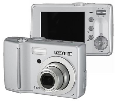 Digimax S630 6.0 MP Digital Camera (Silver)