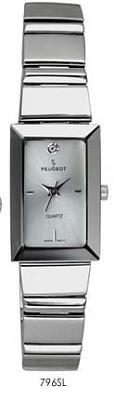 797SL Silver Crystals Marker Watch