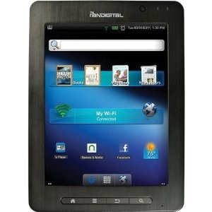 SuperNova 8` Capacitive Touch Android Tablet - R80B400 - OPEN BOX