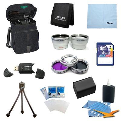 Ultimate Bundle for Sony Camcorders Models HDR-PJ580V, CX580V & PJ200