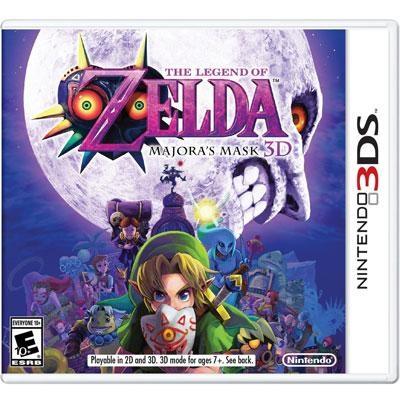 Legend of Zelda Majoras 3DS