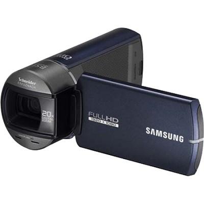 HMX-Q10BN Ultra Compact Full HD Blue Camcorder w/ 10x Optical Zoom