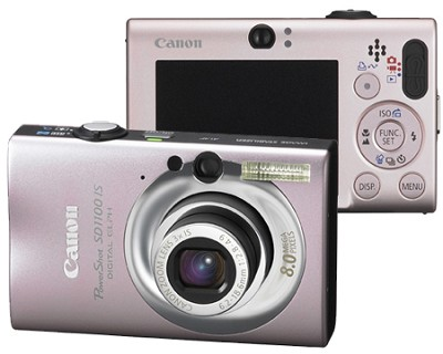 Powershot SD1100 Digital Camera (Pink)