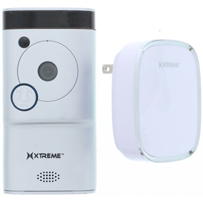 Connected Home WiFi  Smart HD Video Doorbell Camera With Free Chime-Silver