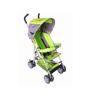 Light-Weight Two Position Baby Stroller with Full Size Canopy