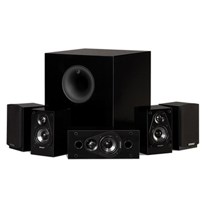 5.1 Take Classic Home Theater System (Set of Six, Black) (OPEN BOX)