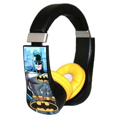 Batman Kid Safe Over the Ear Headphone with Volume Limiter - 30382-TRU