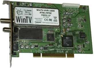 WinTV HVR-1600 Internal PCI Dual TV Tuner/Video Recorder with IR Receiver  1199