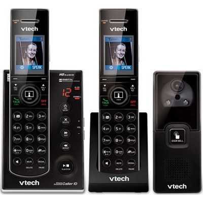 IS7121-2 2 Handset Answering System with Audio/Video Doorbell