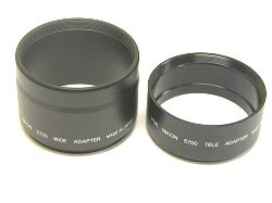 Lens Barrel Adapter Set for Coolpix 5700 and 8700 (52mm threads)