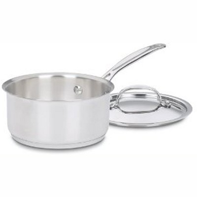 719-14 - Chef's Classic Stainless 1 Quart Saucepan with Cover