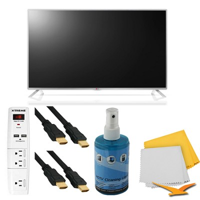 42-Inch 1080p 60Hz Direct LED Smart HDTV Plus Hook-Up Bundle (42LB5800)