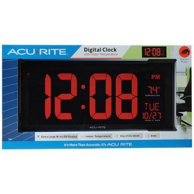 AcuRite Digital 18` Clock