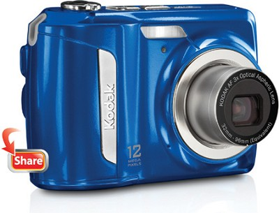 EasyShare C143 12MP 2.7 inch LCD Digital Camera - Blue