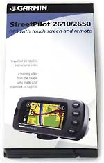 Instructional Video for StreetPilot 2610/2620 GPS Receivers  0101052700