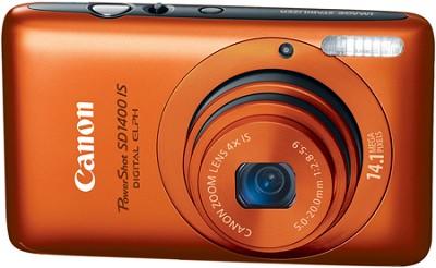 PowerShot SD1400 IS Digital 14.1 MP ELPH Digital Camera (Orange)