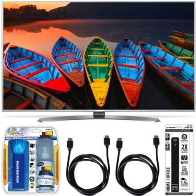 55UH7700 55-Inch Super UHD Smart TV w/webOS 3.0+ Accessory Bundle