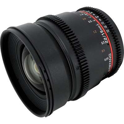 16mm T2.2 `Cine` IF ED Wide-Angle Lens for Sony E VDSLR