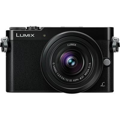 LUMIX GM5 Interchangeable Single Lens (DSLM) Black Camera Plus 12-32mm Lens