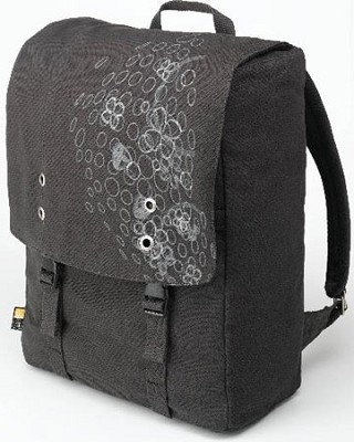 SNB-15 Charcoal Canvas Backpack