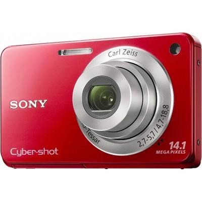Cyber-shot DSC-W560 Red Digital Camera
