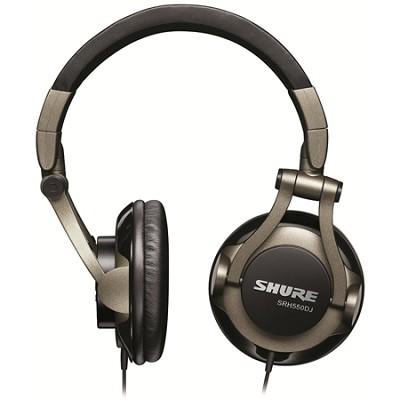 SRH550DJ Professional Quality DJ Headphones (Smokey Grey)