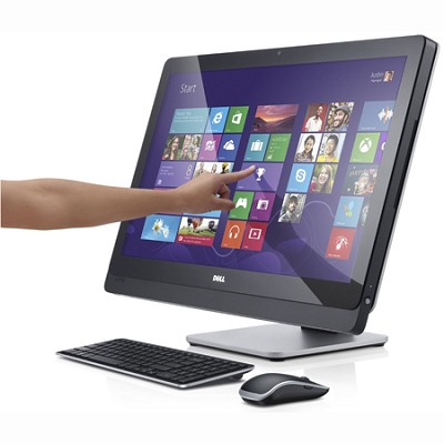 XPS 2720 Desktop PC w/ 27` QHD Touch Monitor Intel Core i5-4430S - XPSo27-715BLK