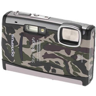 Stylus Tough 6000 10MP 2.7` LCD Digital Underwater Camera (Camouflage)