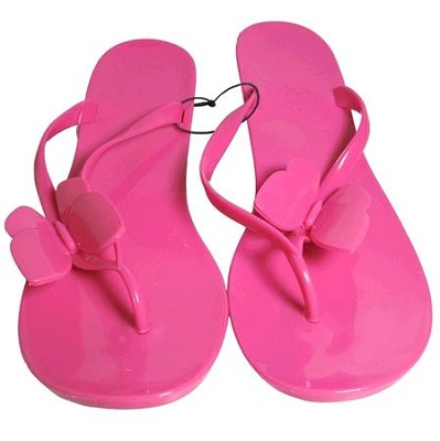 Jelly Sandals Pink Size Medium (7/8)