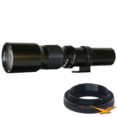 500P - 500mm f/8.0 Telephoto Lens for Pentax