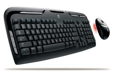 Cordless Desktop Keyboard and Optical Mouse (EX 110)