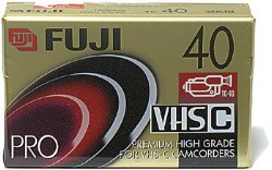 TC-40 VHS-C Super HG Tape