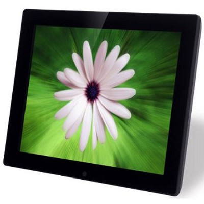 12-Inch Digital Photo Frame w/ 4 GB Memory Drive - X12B