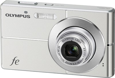 FE-3000 10MP 2.7` LCD Digital Camera (Titanium) - REFURBISHED