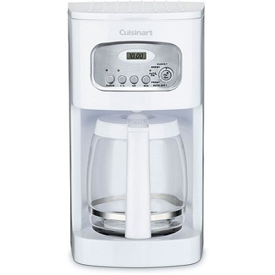 Brew Central 12-Cup Programmable Coffeemaker (White)