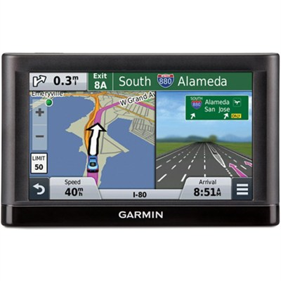 nuvi 55 GPS Navigator System w/ Spoken Directions - Refurbished 1 yr. Warranty
