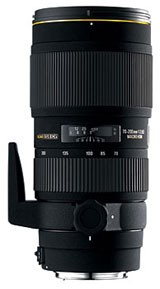 70-200mm f/2.8 EX  II DG APO HSM Telephoto Zoom w/ Macro, AF Lens for Canon EOS