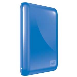 My Passport Essential 500GB USB 3.0/2.0 Portable Hard Drive Blue