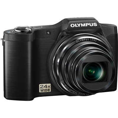 SZ-12 14MP Digital Camera with 24x Optical Zoom w/ 3` LCD (Black) - OPEN BOX