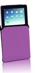 Neoprene Protective Sleeve for Apple iPad2 (Purple) - OPEN BOX