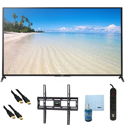 60` 1080p 120Hz Smart 3D LED HDTV Plus Mount and Hook-Up Bundle - KDL60W850B