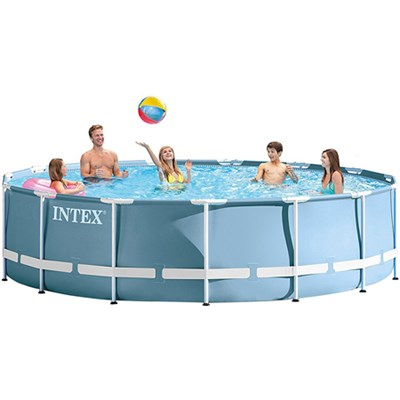 15 feet x 33 in Prism Frame Above Ground Swimming Pool Set with Pump - 28721EH