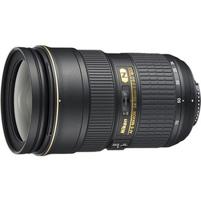 AF-S NIKKOR 24-70mm f/2.8G ED Lens - OPEN BOX