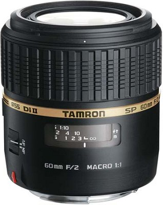 SP AF60mm F2 Di II LD (IF) 1:1 Macro Lens for Canon EOS - OPEN BOX