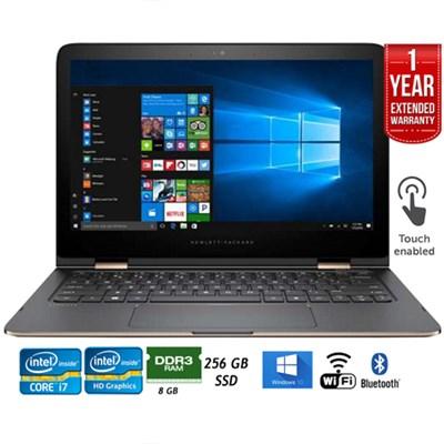 13-4197ms 13.3` Spectre x360 QHD IPS 2-in-1 Laptop Refurbished+Extended Warranty
